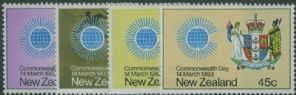 NZ SG1308-11 Commonwealth Day set of 4